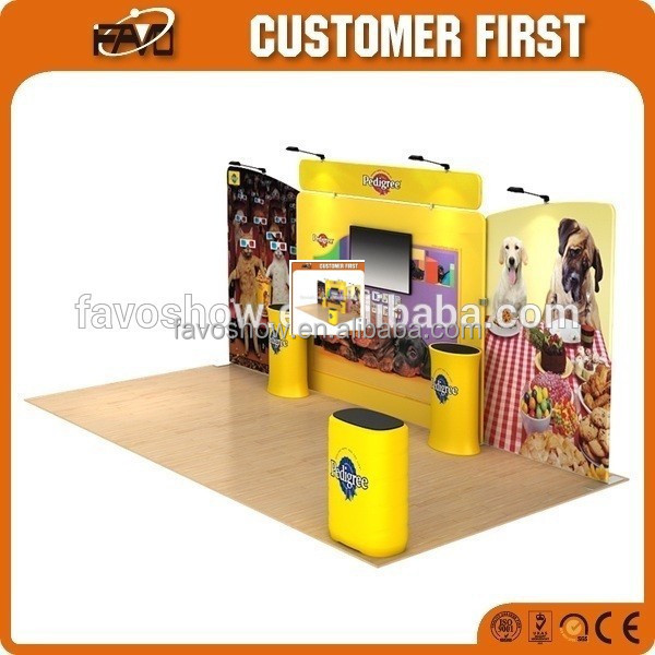 Exhibition Collapsible Brilliance Indoor Curved Factory Company Custom Logo Best Trade <strong>Show</strong> Display