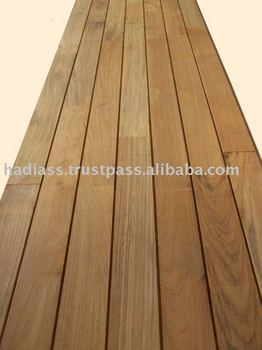 Teak Outdoor Flooring T&G