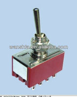 4pdt toggle switch KN1-403