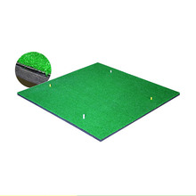 2017 new 3D putting artificial practice grass turf golf swing mat for sale