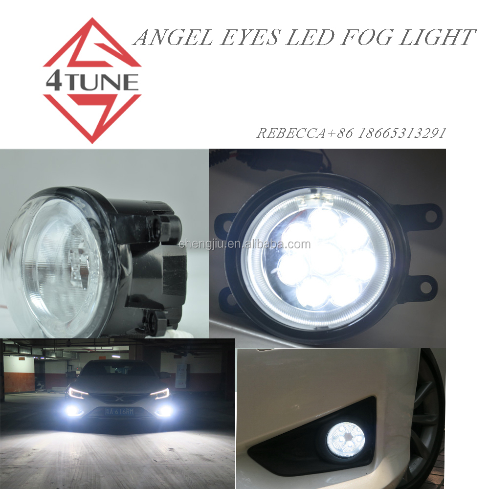 toyota oem parts corolla auris avanza accesorios led fog lights bulb for rav4 2013 tundra land cruiser vios yaris led fog light