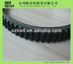 High quality rubber motorcycle v-belt 50cc