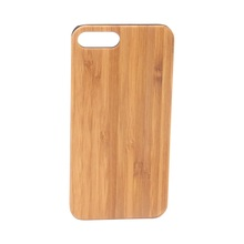 New high quality wood bamboo phone case Wholesale Custom Case wood phone case for iPhone 7 plus