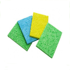 Factory Wholesale Colorful Natural Micro Fiber Car Cleaning Sponge
