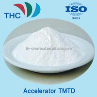 THC TMTD TT Rubber Chemicals C6H12N2S4 For Cable and Rubber