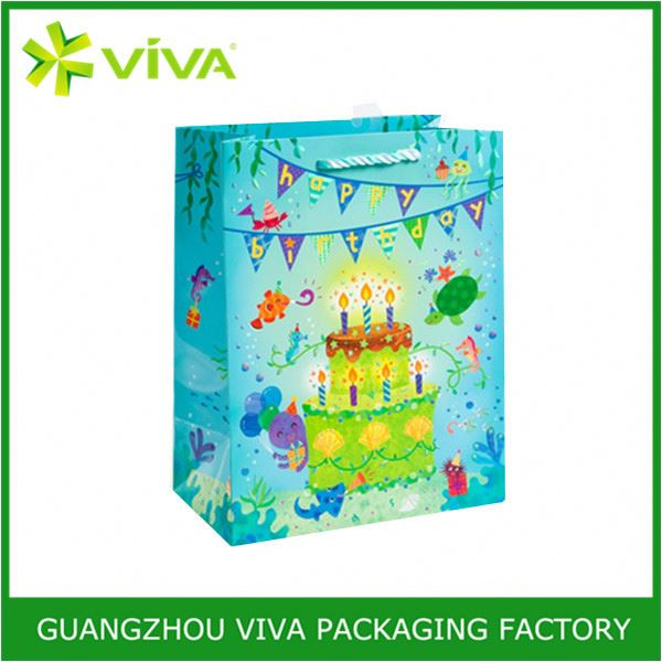 Biodegradable paper shopping bag changsha jinding