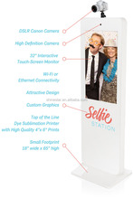 "Cheap 42"" touch screen photobooth party wedding portable photo booth"