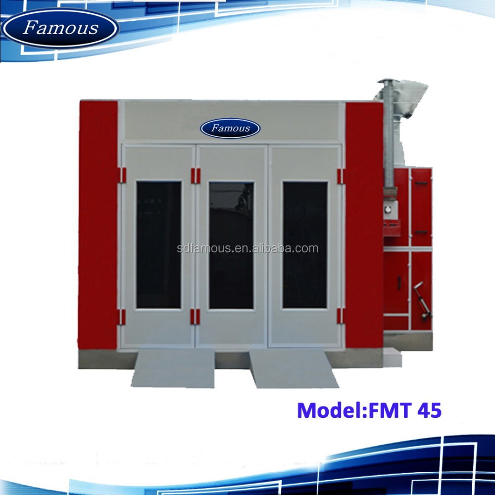 FMT45 exhaust fan spray booth/auto spray equipment/car prep booth