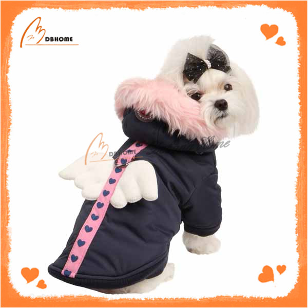 Fashionable design warm dog clothing for winter