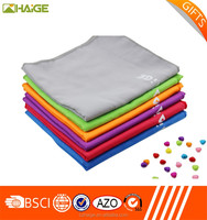 2015 Lowest price for microfiber suede towel by factory