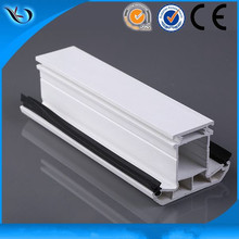 Different shapes upvc plastic door window framing
