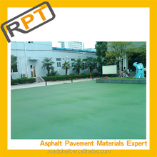 Low-cost Green colored cold asphalt mixture