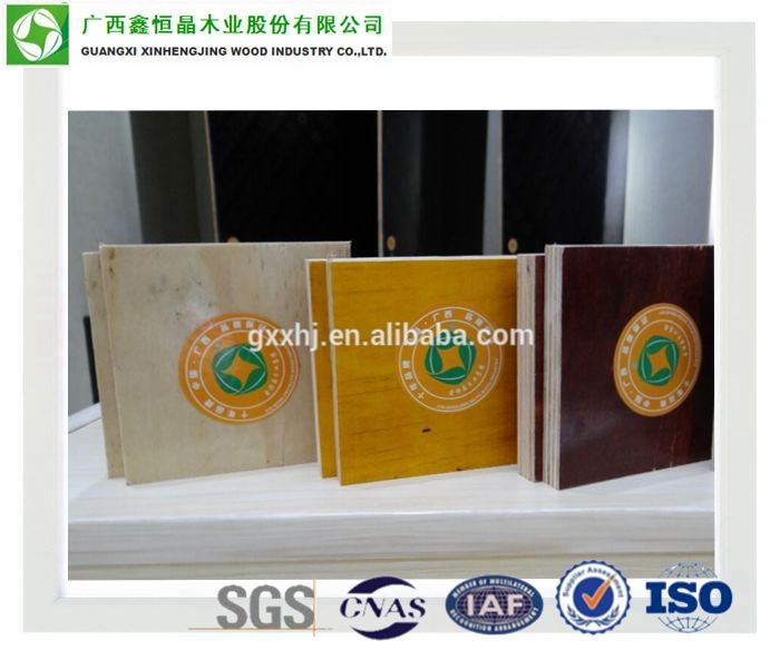 China manufacturer e1 or e0 grade decorative patterned hardboard With Recycle System