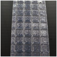 GPPS Pattern embossed clear and color plastic sheet