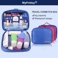 High quality lightweight kids nylon makeup trolley case