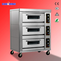 2016 Industrial oven gas pizza oven/Rotary Deck Bakery Equipment Oven