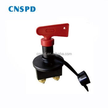 12v 24v 100a car marine truck bus battery isolator switch