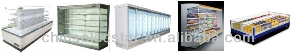 remote freezer.supermarket refrigeration equipment