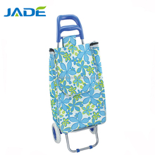 fold up luggage cart 3 wheels airport heavy duty luggage cart hand cart,supermarket trolley 3pcs travel bag set include trolley