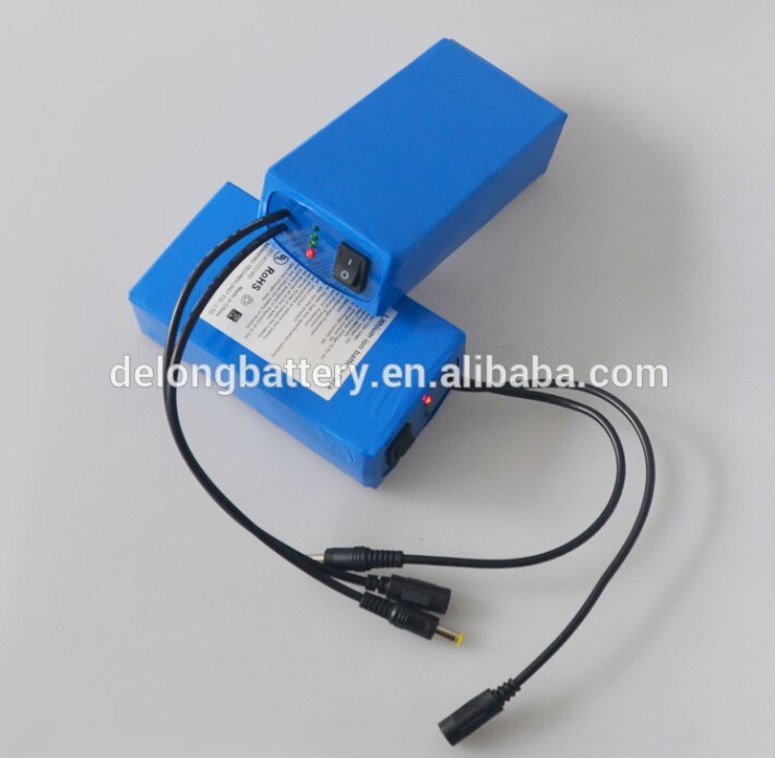 rechargeable 12V cylindrical 18650 lithium ion battery pack OEM ODM battery