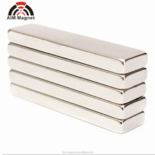 China ndfeb magnet manufacturer customized block magnet 40x10x2mm