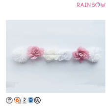 Pretty Elastic Hair Band Chiffon flower Kids Headband For Baby Girls