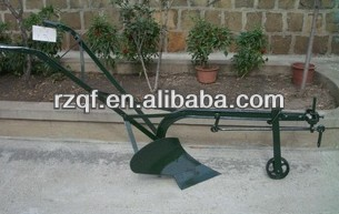 mini compact single plough hand plough for farm tillage