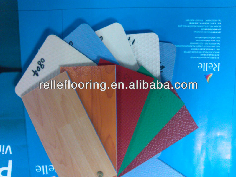antiskid foamed sheet basket court flooring