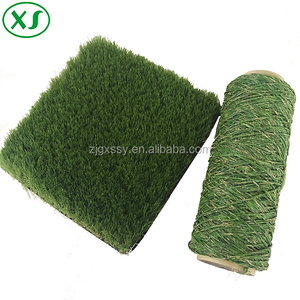 Artificial grass turf yarn for landscape lawn