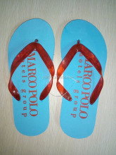 Men blue & red color Slide Slippers