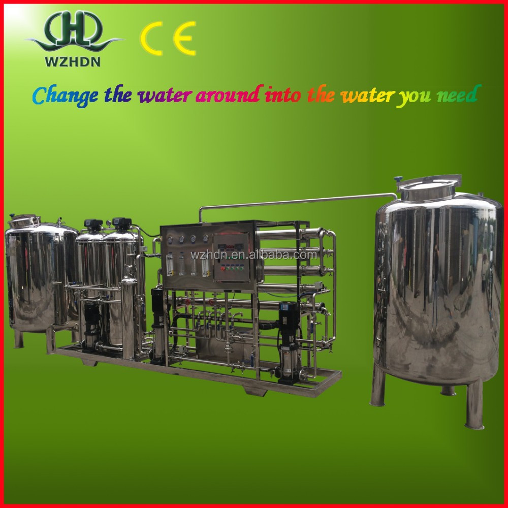1000T/H water treatment RO membrane system/equipment/plant/machine