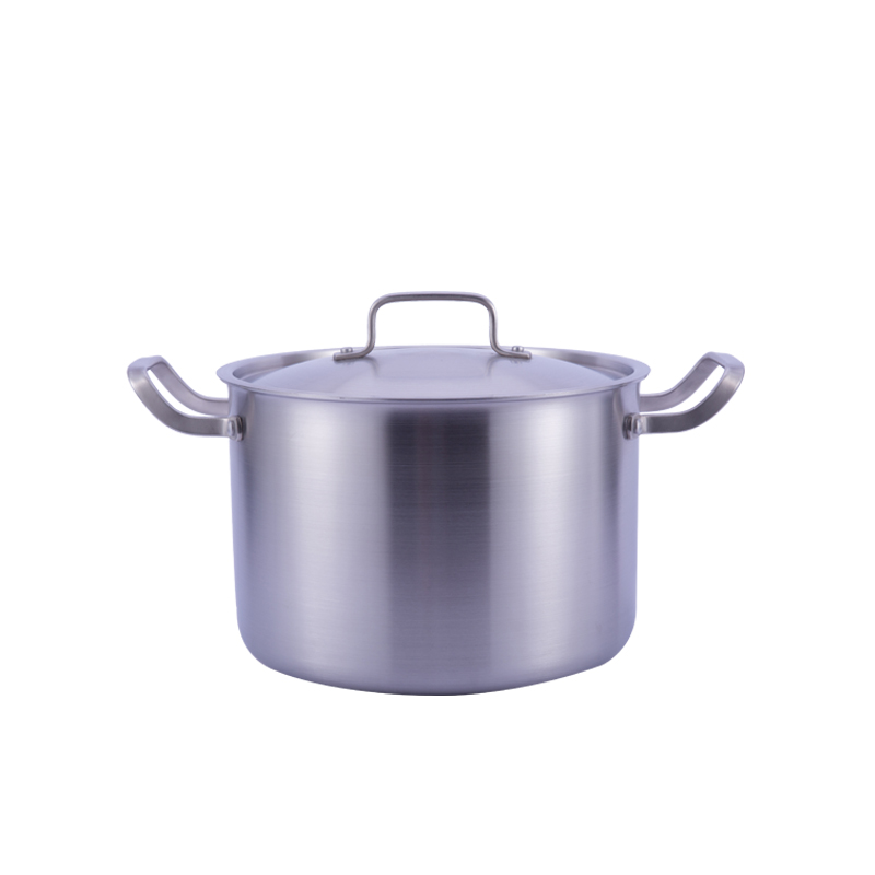 Factory price excellent quality 3-ply stockpot cooking pans