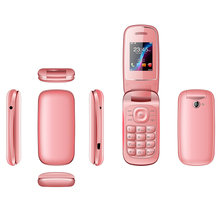 GSM 4 bands made in Shenzhen China flip phone E1272