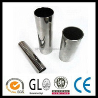 ASTM TP 304 decorative polished stainless steel pipes