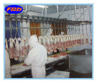 China conveyor chain trolley for chicken slaughter processing line
