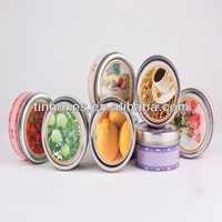 Dia 49mm ointment small round tin box