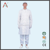 Cleanroom ESD smock, cleanroom clothing Uniform---Lowest price, mass production direct