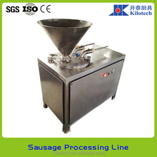 Hydraulic sausage machine, sausage filler