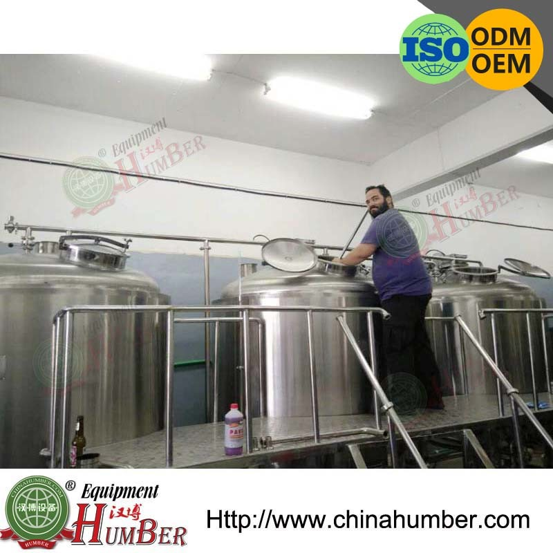 stainless steel brewing vessel