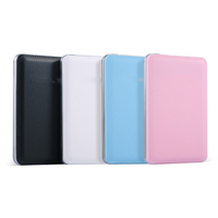 2016 Promotion Gift Polymer Power Bank Ultra Thin PU Leather Mobile Power Bank For Iphone For Samsung