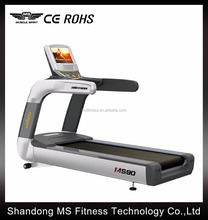 2016 hot sale !! Commercial Treadmill ( TFT SCREEN) MS90 running machine/used door gym exercise fitness equipment for sale