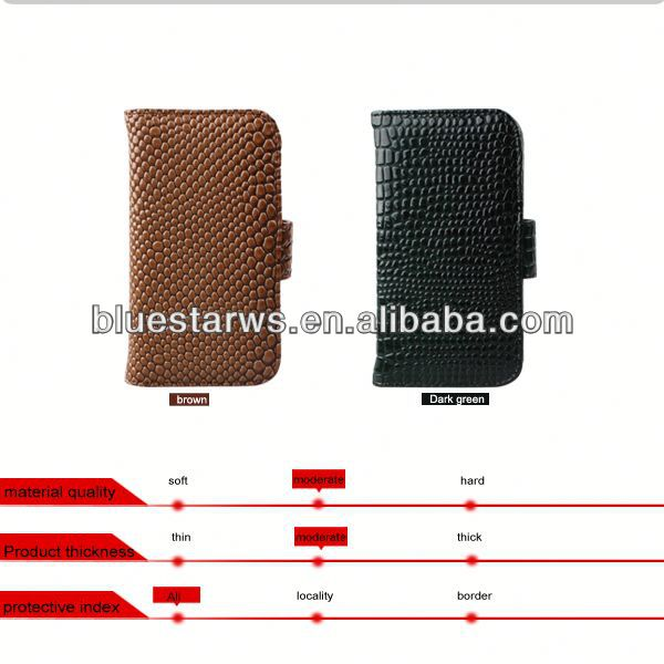 China Global Supplier for samsung galaxy i9500 case wallet hot selling leatehr case