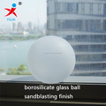 frosted borosilicate glass ball with screw top