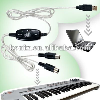 Stereo Headphone output and works directly with PC of usb midi cable on sale