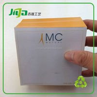 acrylic cubes paper weight brushed memo block cube