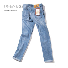 wholesale slim fit jeans distressed men pants factory in guangzhou