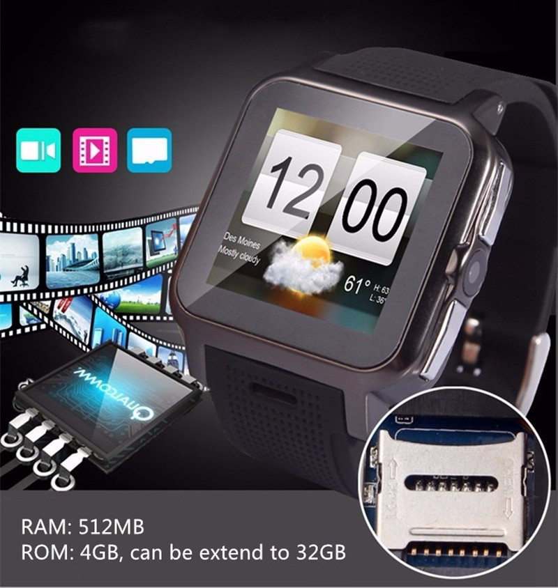 Free Ship 1.54'' Fashion Bluebooth 512MB/4GB Smartwatch Z15 SIM WiFi Smart Watch For Men Android TF Card Smart <strong>Phone</strong> Watch Gifts