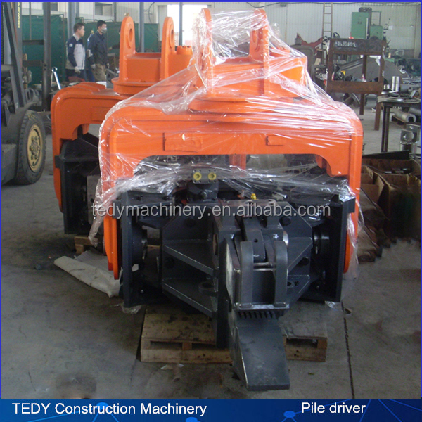 30-40tons excavator hydraulic sheet piling machine for sale