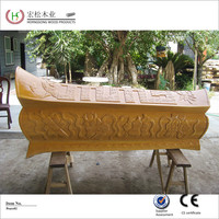For wholesales bamboo casket