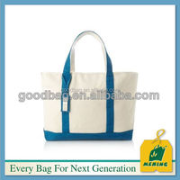 promotional logo printed funny canvas shopping bag